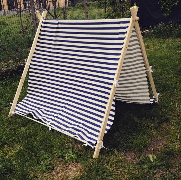 Tenda per bambini DIY